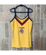 AUTHENTIC COLOMBIA SLEEVELESS SOCCER JERSEY TANK TOP SHIRT SZ LARGE S - $20.56