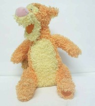 Disneys Tigger Plush Pastel Gumdrop Orange Yellow Curly Stuffed Animal - $19.30