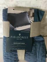 Fieldcrest Matelasse Navy Blue Sham - $17.81