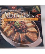 Pampered Chef Main Dishes cookbook 2000 spiral softcover recipes - $12.40