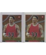 1997-98 Collector's Edge #17 Scottie Pippen Chicago Bulls Lot of 2 - $3.32