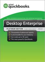 QuickBooks Enterprise 2019 Platinum Edition, 4-User (1-year subscription) - $3,300.00