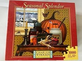 Charles Wysocki 1000 Piece Jigsaw Puzzle Game Pumpkin Still Life Paintin... - $296.01