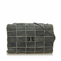 Pre-Loved Chanel Gray Reissue 225 Patchwork Flap Bag France - $1,196.97 CAD