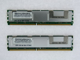 NOT FOR PC! 8GB 2x4GB PC2-5300 ECC FB-DIMM MEMORY for HP Compaq xw6400 TESTED
