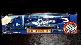 Blue Oreo Dale Earnhardt Jr. #3 NASCAR Die-Cast Collector Trailer Rig AA19-NC800