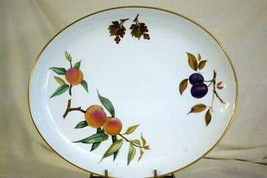 "Royal Worcester 2015 Evesham Gold 15"" Oval Platter - $23.30"