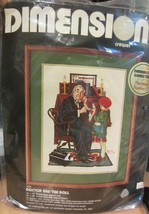 Dimension Norman Rockwell Doctor and the doll  Crewel kit NEW - $21.80