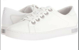 MICHAEL Michael Kors Women's Halle Sneaker Optic White 8.5 M New w/ Defect image 1