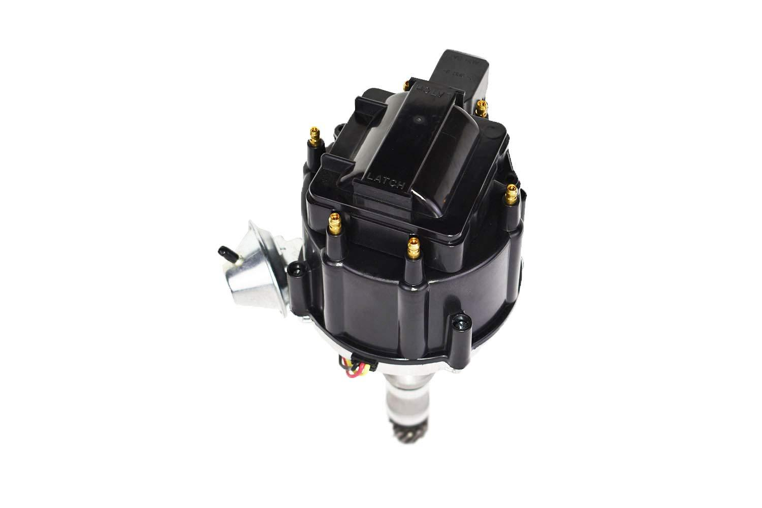 A-Team Performance HEI Distributor 65K Volt Coil Compatible with Buick Odd Fire