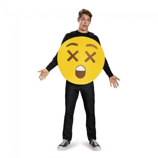 Disguise Rayon X Yeux Emoji Sandwich Board Unisexe Adulte Déguisement Halloween