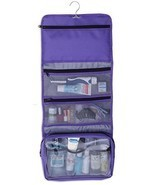 Lilliput Hanging Toiletry Bag Hanging Makeup Organizer for Cosmetics, To... - £17.52 GBP