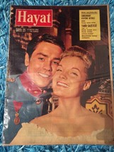 ALAIN DELON cover turkish magazine FREE SHIPPING WORLDWIDE 1962 ultra rare - $9.89