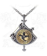 Astral Dragon Quadrant Locket Locket By Alchemy Empire: Steampunk - $189.58