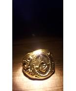 ILLUMANTI FREE MASON HAUNTED RING Knight templar djinn ring of wishes po... - $177.00
