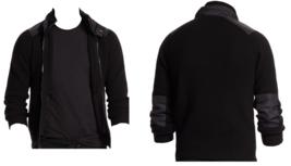 $598.00 Polo Ralph Lauren Men's Black Detachable Hood Full Zip Sweater Size XL - $246.51