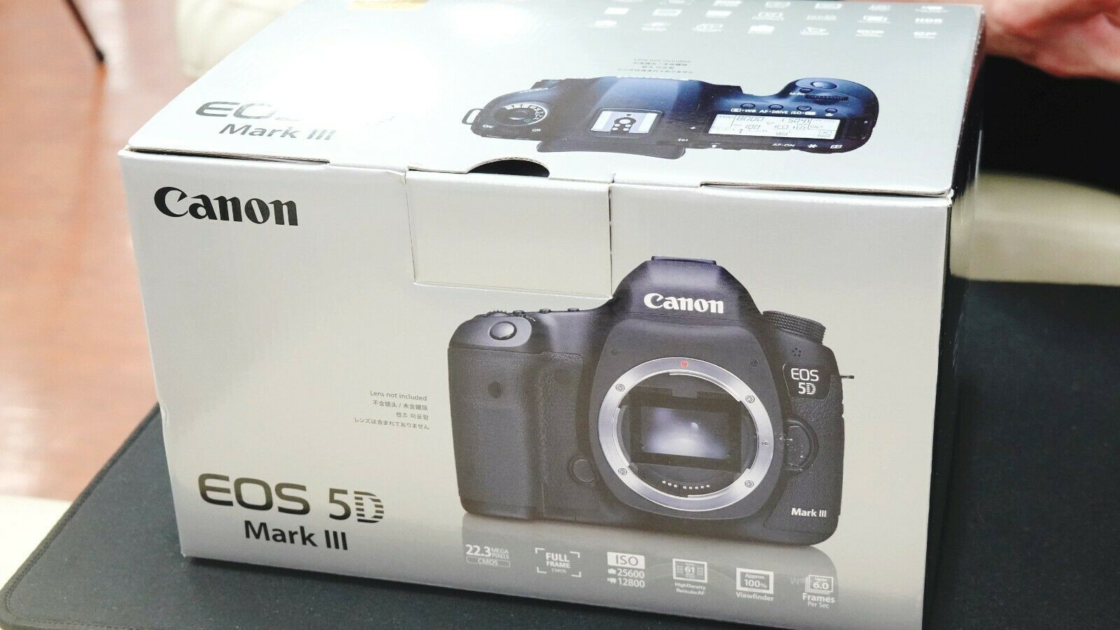 Great EOS Canon 5D MarkⅡ 2 Mark II Shutter Count 34,919 21.1 MP BODY ONLY