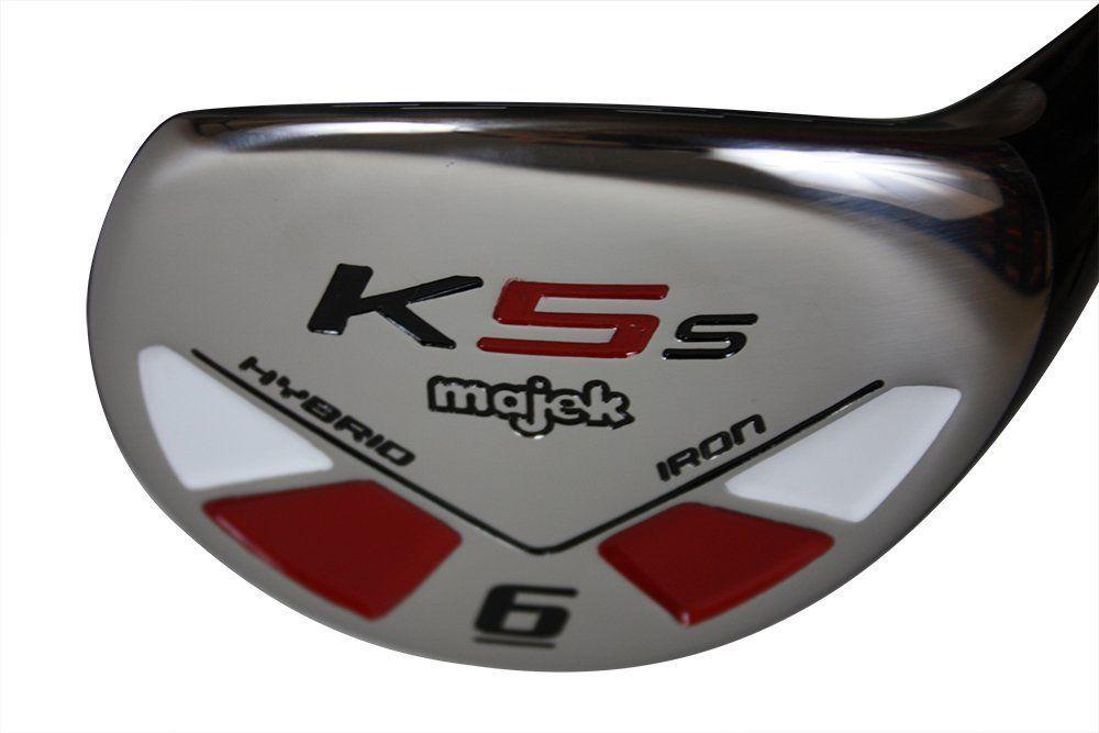 "Majek Golf Senior Lady #6 Hybrid Lady Flex New Rescue Utility ""L"" Flex Club"