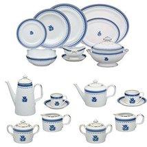 Vista Alegre Cozinha Velha Porcelain Complete 100 Pieces Dinnerware Set - $5,099.95
