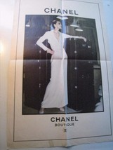 Chanel Boutique 1970s Haute Couture LARGE print... - $39.57