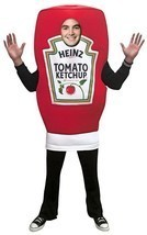 Heinz Ketchup Squeeze Costume Condiment Food Halloween Party Unique GC4868 - €61,26 EUR