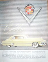 Cadillac General Motors Advertising Print Ad Art 1940s - $5.99