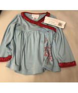American Girl - Bitty Baby - Snowy and Sweet PJs (A06-17)/ Only Top Cloth - $9.90