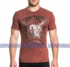 Affliction AC Deep Cut A18108 Short Sleeve Graphic Reversible T-shirt fo... - $53.41