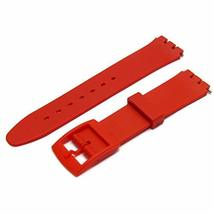 Red Resin Band to fit Standard Swatch Watch 17mm choice of colours - $9.95