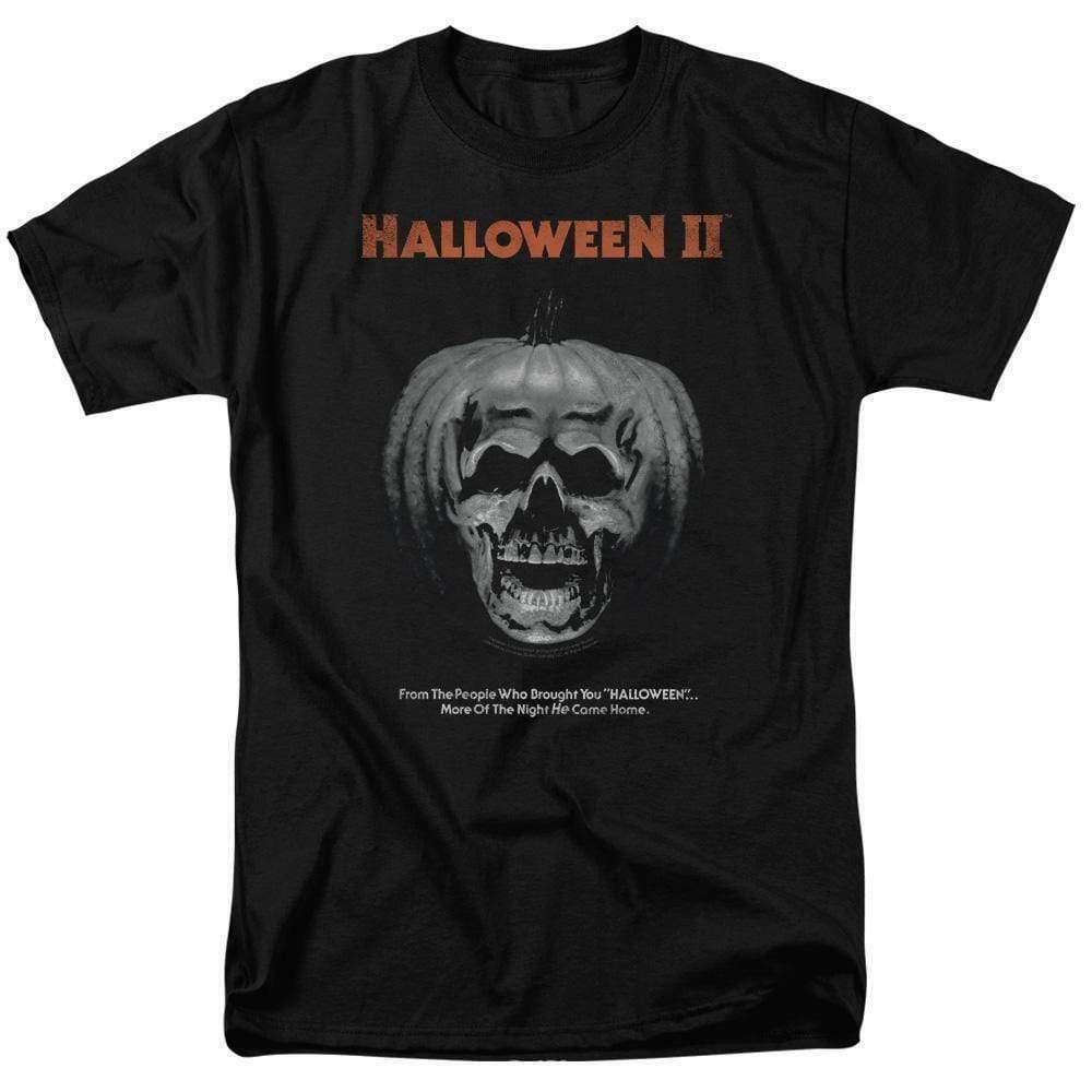 Halloween II t-shirt pumpkin skull retro 80s classic horror graphic tee UNI890