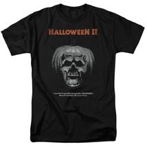 Halloween II t-shirt pumpkin skull retro 80s classic horror graphic tee UNI890 image 1