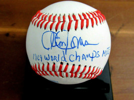 CLEON JONES 1969 WORLD CHAMPS NEW YORK METS OF'ER SIGNED AUTO OL BASEBAL... - $98.99