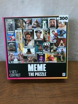 Meme das Puzzle - 300 Teile - 61cm X 45.7cm Von Milton Bradley - Nib - $6.13