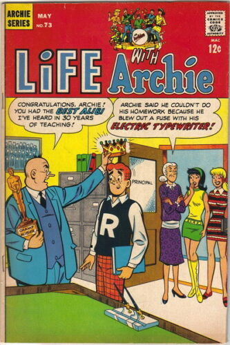 Life With Archie Comic Book #73 Archie Comics 1968 FINE