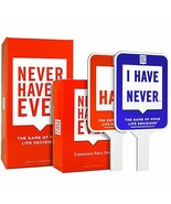 Never Have I Ever Combo Pack 2: Original Card Game, Expansion Pack One, ... - $41.76