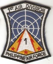 Philippines Air Force PAF 1st Air Division Unit Patch 3.75 X 2.75 in  - $9.99