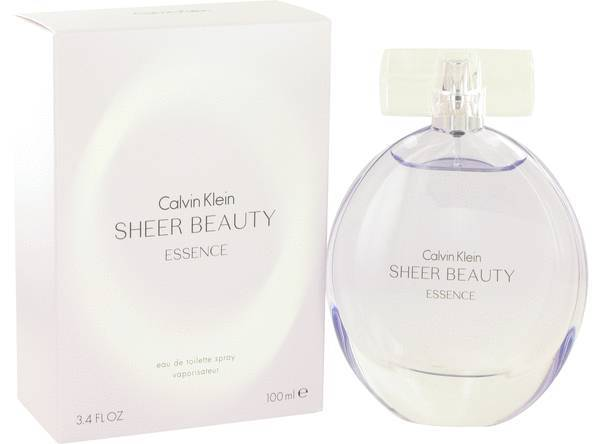 Calvin Klein Sheer Beauty Essence Perfume 3.4 Oz Eau De Toilette Spray