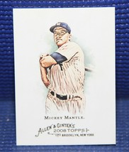 Mickey Mantle - Topps Allen Ginter #7 - Mint - $5.25