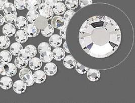 HOTFIX Crystal Clear Rhinestones Flatback 144 SWAROVSKI 2.8mm 10ss ss10 - $7.36