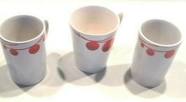 Set 3 Starbucks coffee tea cup mug 2012 Christmas holiday bulb 1-12 Oz, ... - $120.00