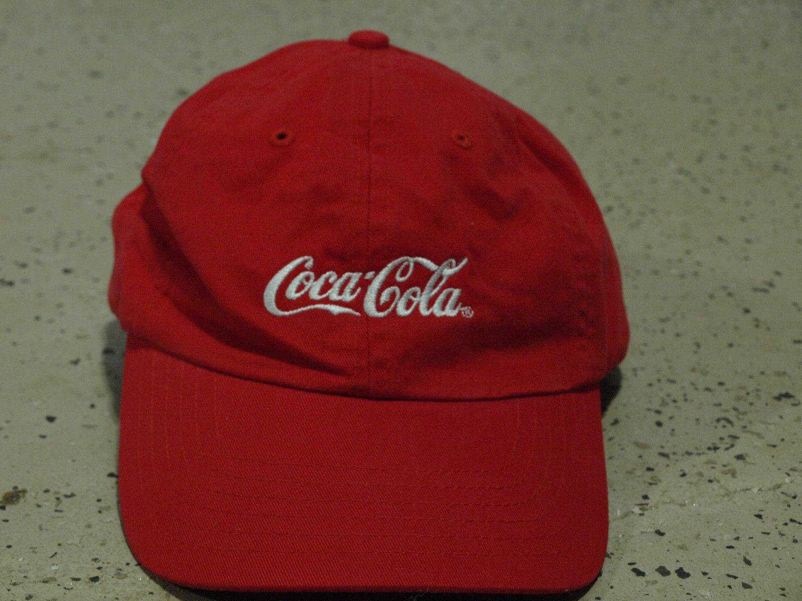2413f65c3e8 Vintage Coca Cola Red Baseball Cap Hat Quake and 50 similar items. 57