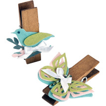 Sizzix Thinlits Die Birds And Butterflies - $9.56