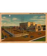 LINEN POSTCARD- OMAHA UNION STATION, OMAHA, NE BK23 - $2.45