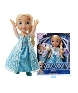"Disney Princess Frozen Sing a Long Elsa Singing toy with Microphone 15"" - $95.00"