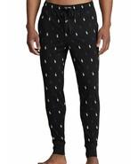 POLO RALPH LAUREN low black ponys  Jersey Jogger Lounge Pants L NWT  - $37.16