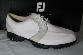 Foot Joy Greenjoys Women's Golf Shoes, Size 9.5, WHITE/CLOUD, 48357 - $42.45