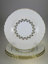 Minton Gold Cheviot Bread & Butter Plates Set of 4 - $14.27