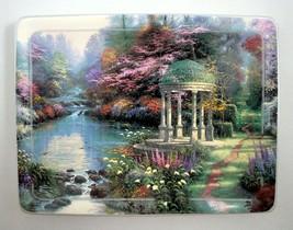 Thomas Kinkade Garden of Prayer Nature's Retreats Plate Bradford Exchang... - $18.79