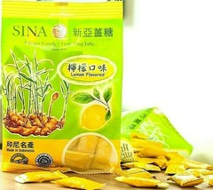 Sina Ginger Candy with Lemon Ting Ting Jahe ( Made with Real Lemon ) 4.4 oz - $3.22