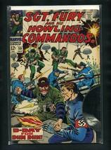 Sgt. Fury #59 FN 1968 Marvel Comic Book - $11.75